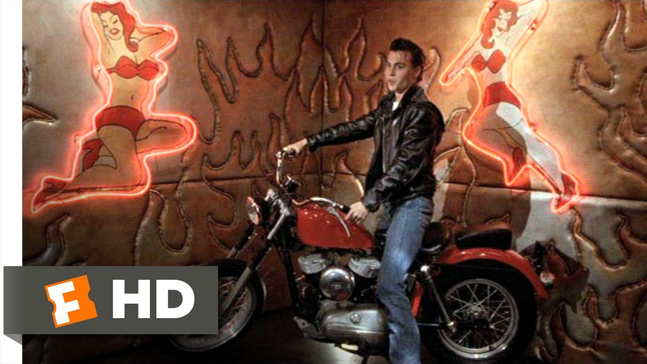 f7ffebd8d Cry-Baby (3/10) Movie CLIP - Cry-Baby's New Motorcycle (1990) HD ...