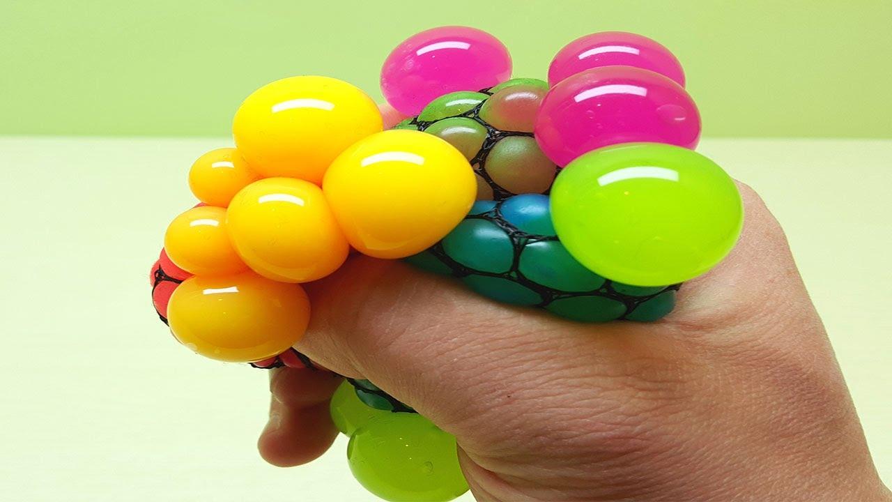 anti stress ball squishy mesh stress ball antistress toys. Black Bedroom Furniture Sets. Home Design Ideas