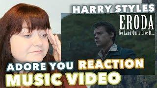 Harry Styles - Adore You Music Video Reaction (ERODA)