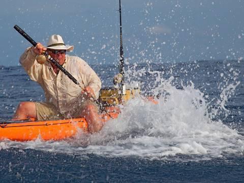 Kayaker's Epic Battle