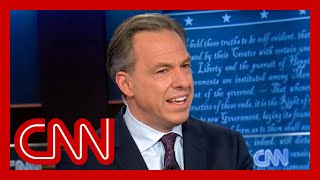So disgusting: Jake Tapper slams Trump campaign attacks