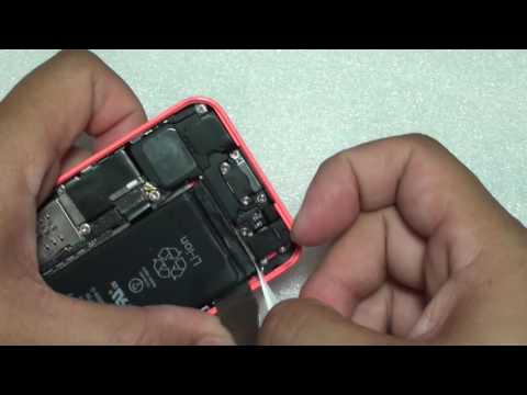 iPhone 5C: How to Replace Back Housing and Screen (Nothing Left Out)