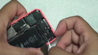 iphone 5c how to replace back housing and screen nothing left out