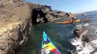 Kayak Cornwall - Kennack Sands to Kynance Cove via Lizard Point