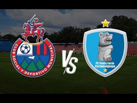 Apertura 2021: Municipal rescató un empate frente a Santa Lucía Cotzumalguapa por la fecha 13