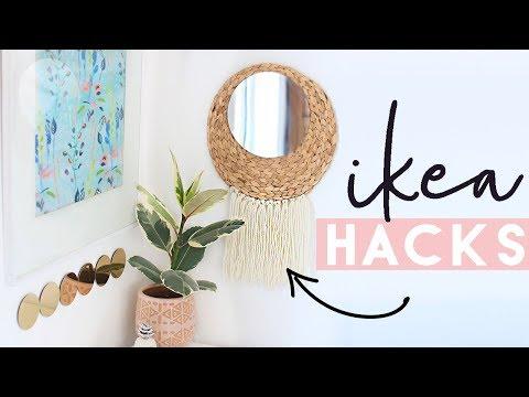 Ikea Hacks and DIYs | Home Decor on a Budget from Ikea | August 2017