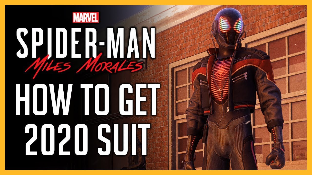 <div>How To Get 2020 Suit & All Peter Parker's Training Guides | Spider-Man: Miles Morales | #JustGAME</div>