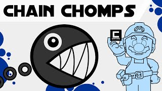 Tips Tricks and Ideas with Chain Chomps in Super Mario Maker