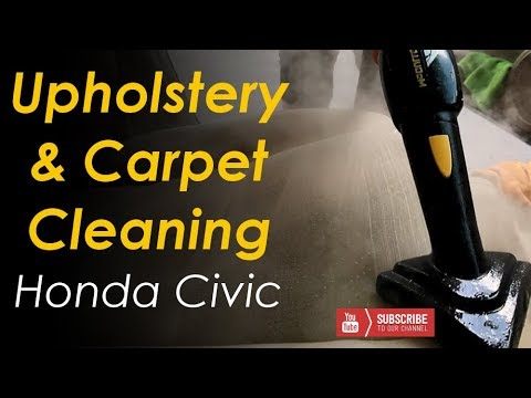 Interior Detail // Upholstery & Carpet Cleaning // Honda Civic