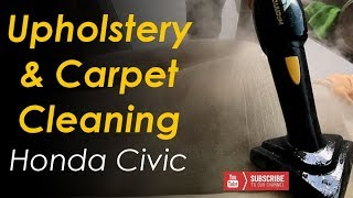 Interior Detail // Upholstery & Carpet Cleaning // Honda Civic