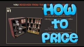 TF2: How to price Chemistry Sets