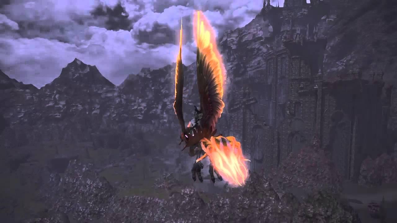 Final Fantasy XIV - Bennu Mount