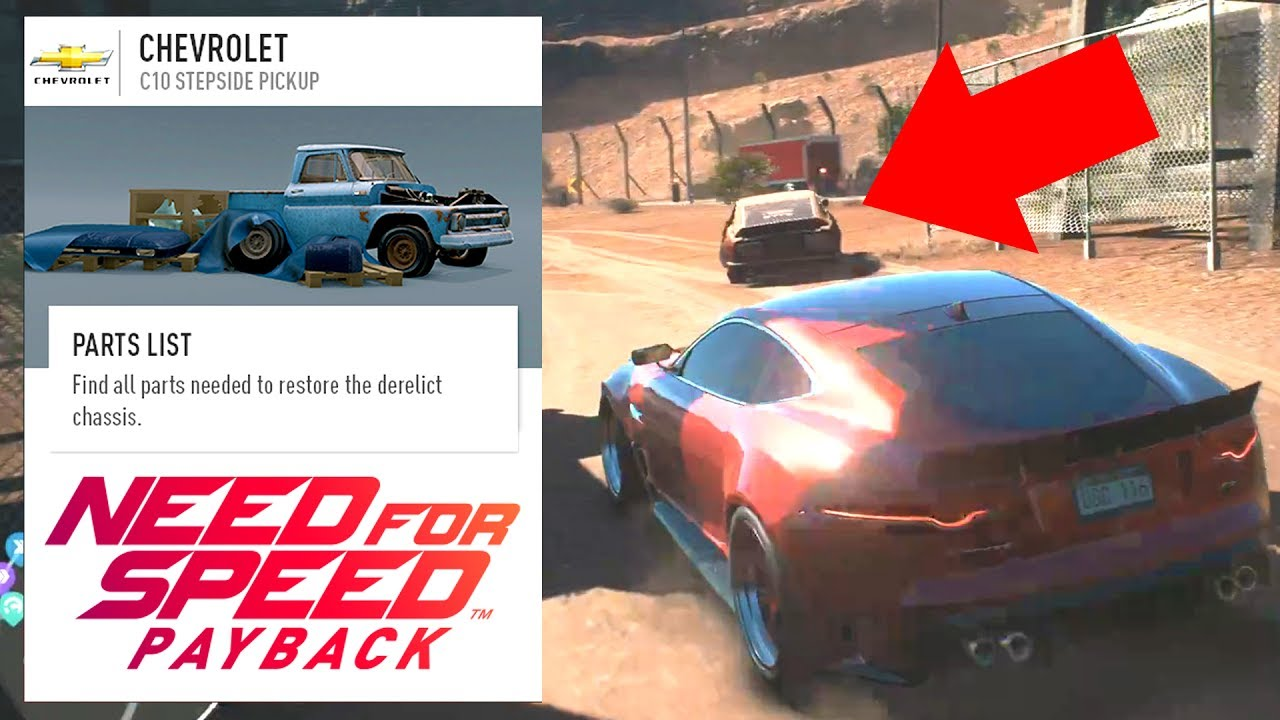 Need For Speed Payback Derelict Projects How They Work Youtube