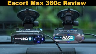 Escort Max 360c Review: An Updated Max 360 with WiFi