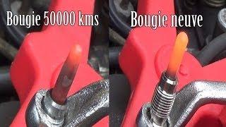 Contrôle des bougies de préchauffage & module pre-postchauffage - Diagnostic panne auto
