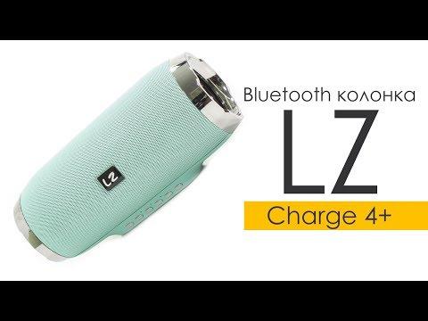 Портативная Bluetooth колонка LZ Charge 4+ Red