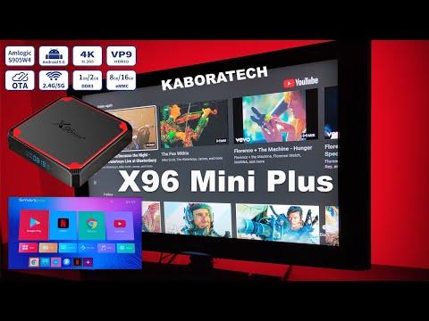 Smart TV Box X96 mini Plus