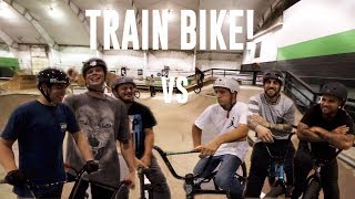 TRAIN GAME OF BIKE!
