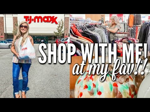 SHOP WITH ME T.J.MAXX | HOME DECOR & DRESSING ROOM TRY ON | SHOPPING VLOG | Love Meg
