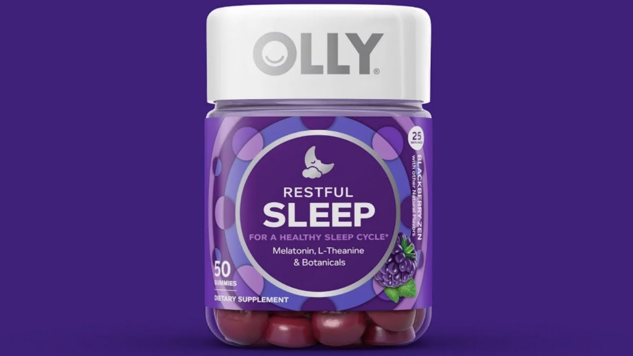 Product Review Olly Restful Sleep Gummies Youtube