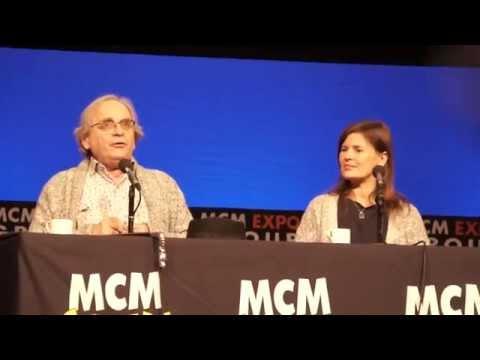 Sylvester McCoy & Sophie Aldred at MCM Manchester 2015