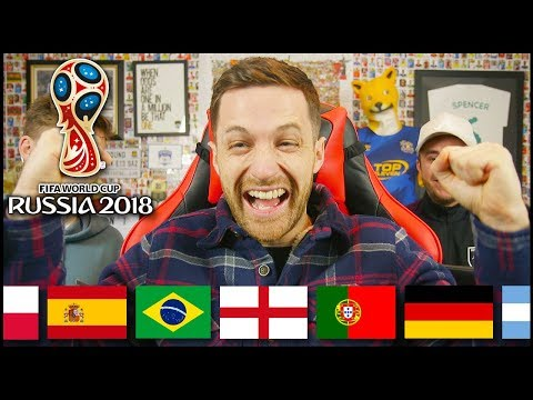 WORLD CUP DRAW REACTION & PREDICTION!