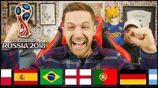 Video WORLD CUP DRAW REACTION & PREDICTION! download MP3, 3GP, MP4, WEBM, AVI, FLV Desember 2017