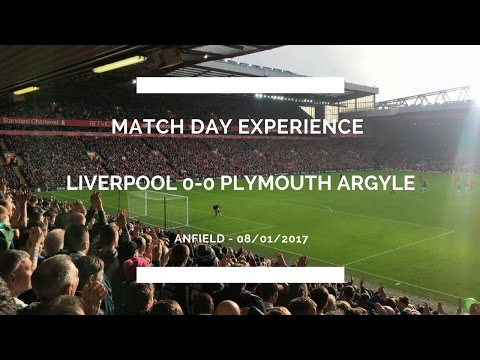 Groundhop at Anfield - Liverpool vs. Plymouth Argyle - THE TRUE MAGIC OF THE FA CUP