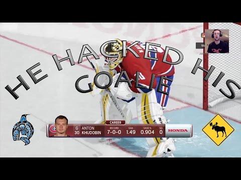NHL 17 – HUT Ep. 4 –  THE BEST GOALIE IN HUT – Anton Khudobin