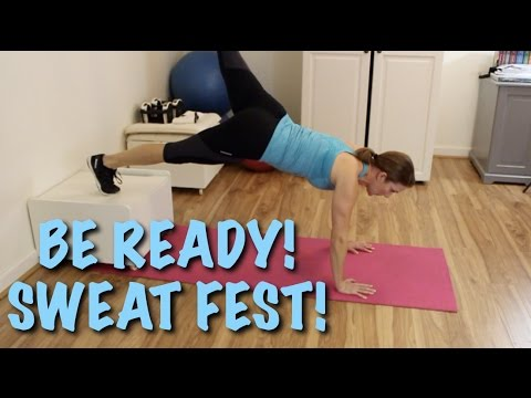 Upper Body & Core Workout + Lower Abs Blast