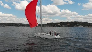A Day Out Spinnaker Sailing Dufour 40