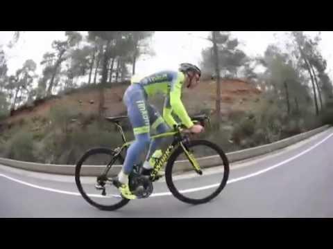Rafał Majka uphill training road