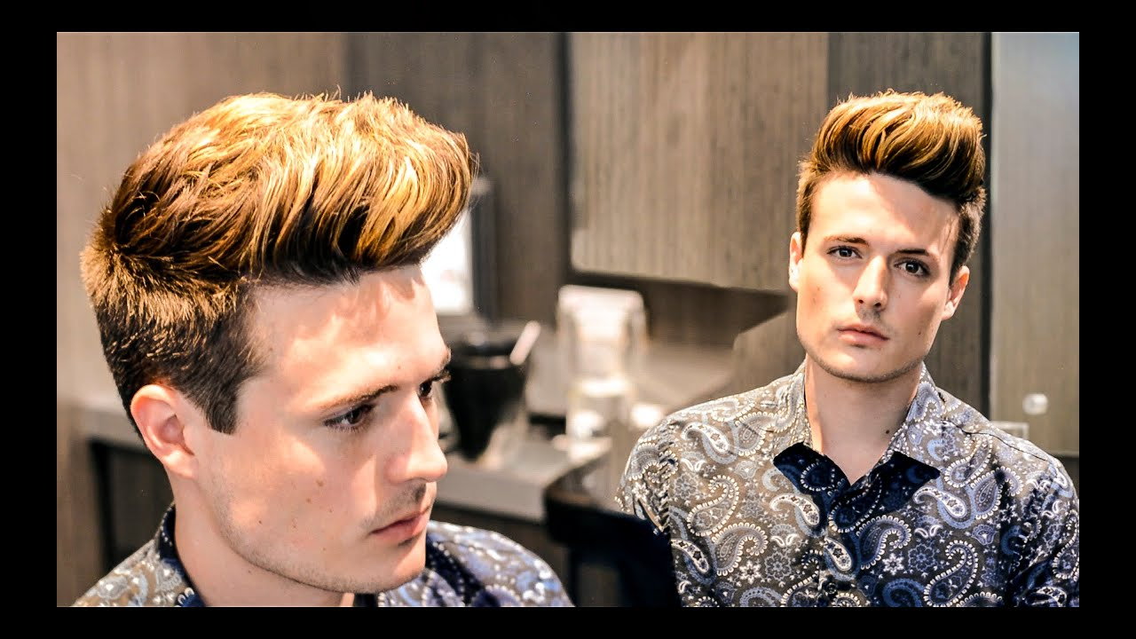 Mens Hair Summer Highlights Hairstyle Inspiration Youtube