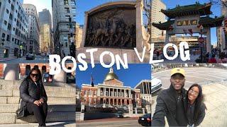 BOSTON VLOG!