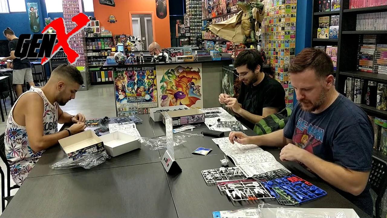 Gundam (Model Kits) Build Event @ GenX Gaming Store