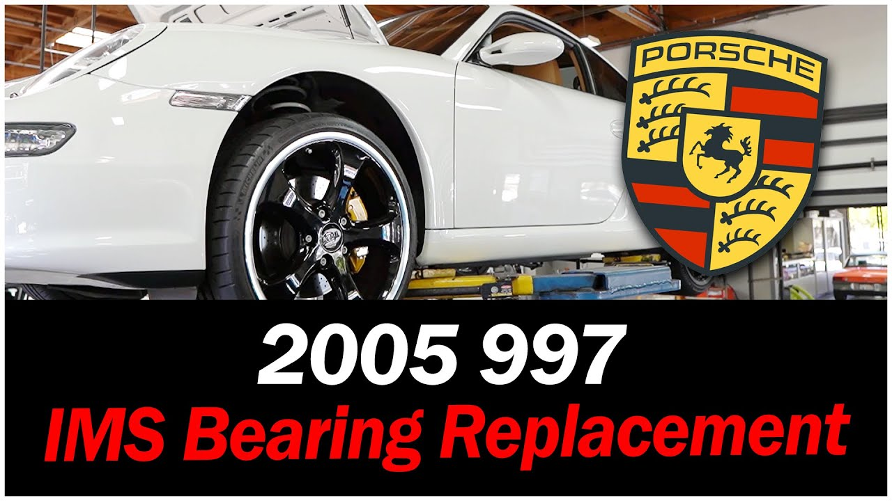 IMS Plain Bearing Replacement 2005 Porsche 997