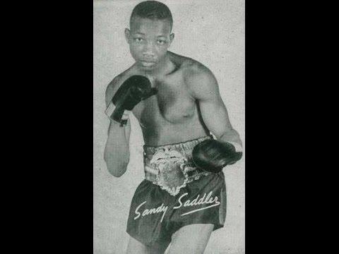 Legendary two-time featherweight & Jr. Lightweight Champion Sandy Saddler Vol.10