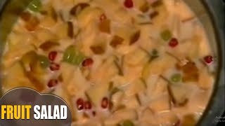 How To Make Fruit Salad With Custard And Milkmaid