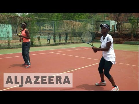 Tennis in Africa: Two sisters in Mali dream big