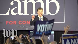 From youtube.com: Conor Lamb: 'We did it' {MID-265807}