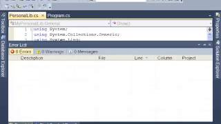 C#: How to Creating Custom Namespace And Converting it into DLL - Tutorial 7