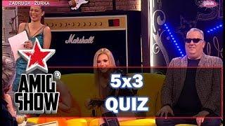 5x3 Quiz - Ami G Show S12 - E13