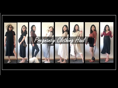 [VIDEO] - 34周孕期穿搭分享 | Pregnancy Clothing Haul | Summer Outfits 3