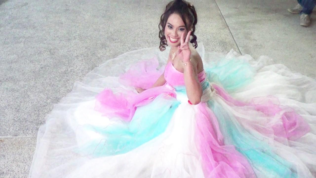 Beau Blanc Wedding Dress Outdoor Photoshoot - YouTube