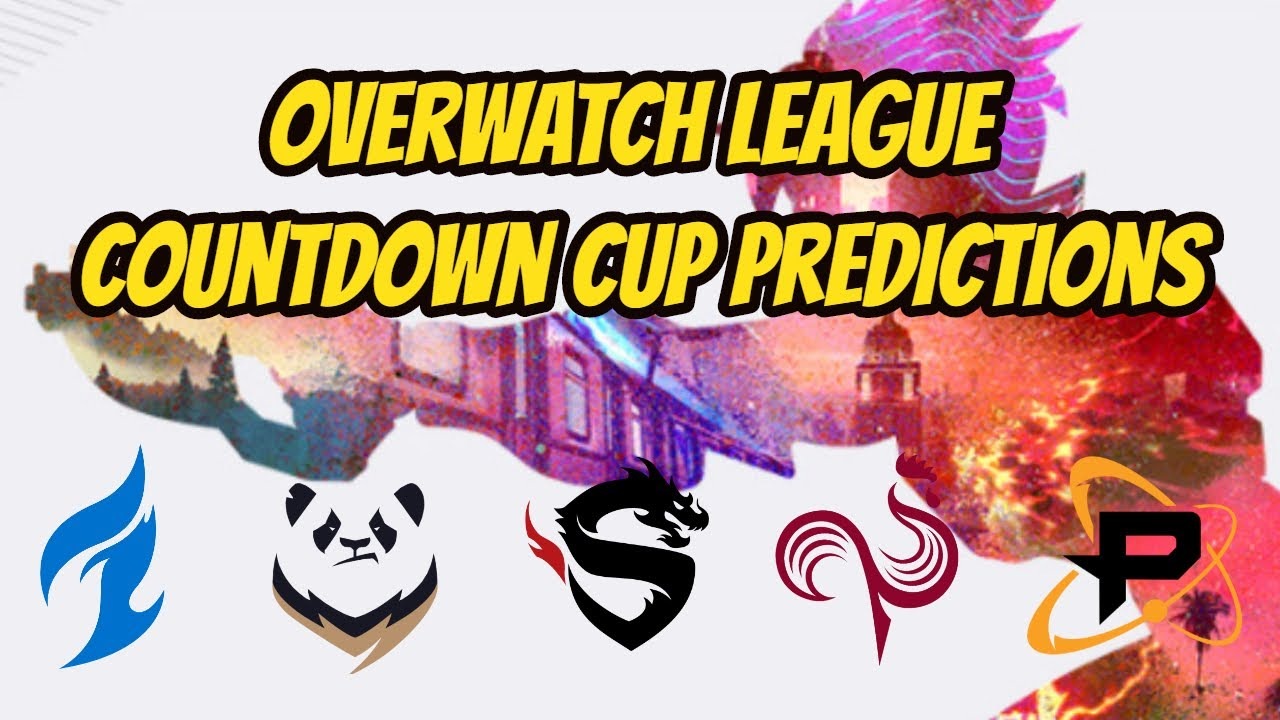 Overwatch League Countdown Cup Tournament Predictions