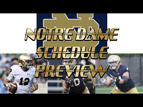 Notre Dame Fighting Irish Schedule Preview, The 15th ACC Team