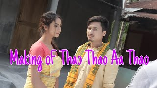 Making Of #Thao Thao Aa Thao||ft|| Shimang & Helina