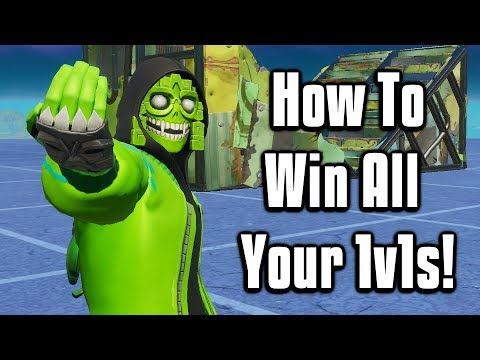 Can t Win 1v1s? THIS IS WHY! - Fortnite Creative Tips Tricks