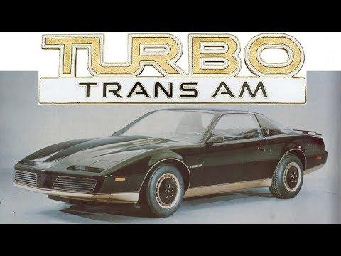 GM Quashed Pontiac's 1982 Turbo Trans Am