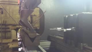Радиусная гибка металла на листогибочном прессе(, 2017-04-19T07:45:48.000Z)